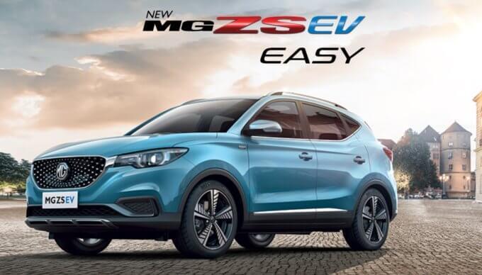 (MG製電気自動車 MG ZS EV 2019)